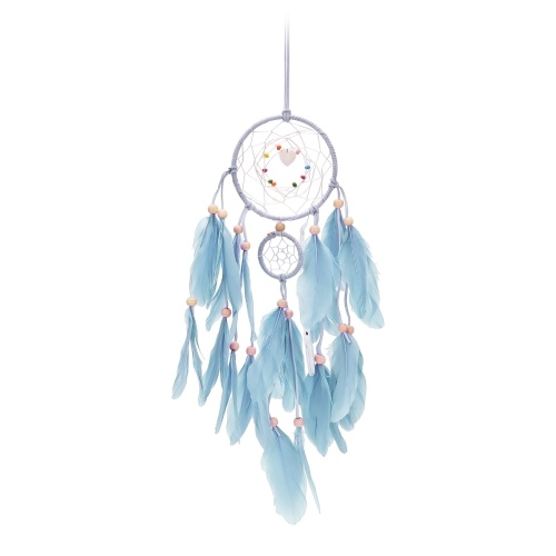 Feather Dream Catcher with LED Light