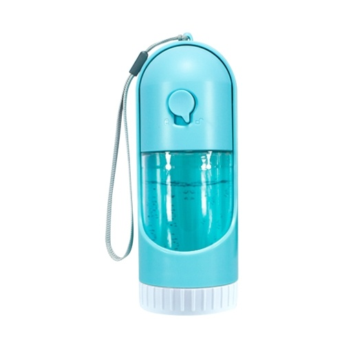 Dispensador de agua para mascotas estirable portátil