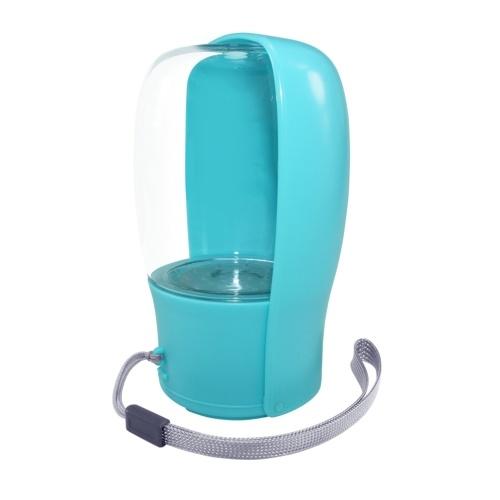 Tragbarer faltbarer Haustierwasserspender