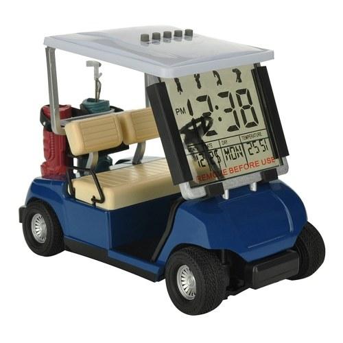 Golfs Cart Model Electronic Alarm Clock