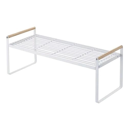 Storage Shelf Organizer Kitchen Cabinet and Counter Shelf Organizer