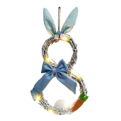 2021 Easter Decoration The Rattan Circle Wreath