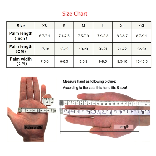 Anself Cut Resistant Glove Stainless Steel Mesh Knife Cut Resistant Protective Glove