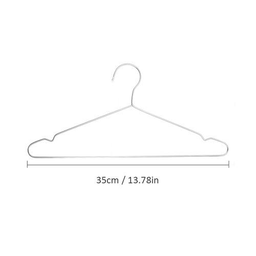 10 Stück 35cm Kleiderbügel
