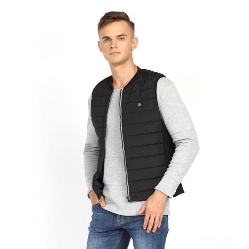 TOMTOP / Men Heated Vest Winter Warm Heated Vest