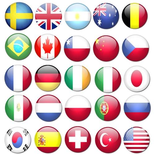 Anself 90 * 150 см полиэфира флаг стандартного размера страны Флаг национальный флаг хорошего качества баннер размер 3 * 5ft 25 стран Факультативного фото
