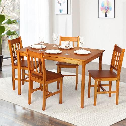 Solo 257.99€, IKayaa Tavoli da tavolo da pranzo moderni da cucina ...
