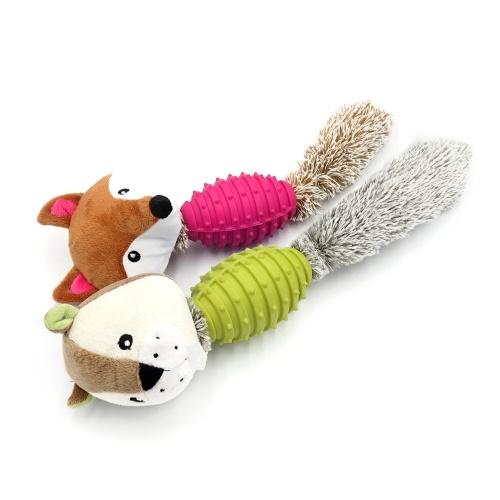 Bild von Nettes kleines Tier weiches Plüsch-Spielzeug-Hundekauen-Spielzeug