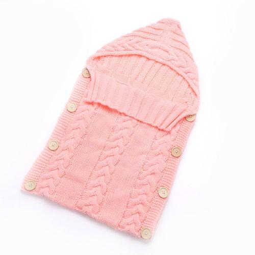 Cute Warm Soft Newborn Infant Baby Girl Boy Spring Fall Winter Envelope Stroller Bed Sleeping Bedding Bag Sack Swaddle Wrap Blanket