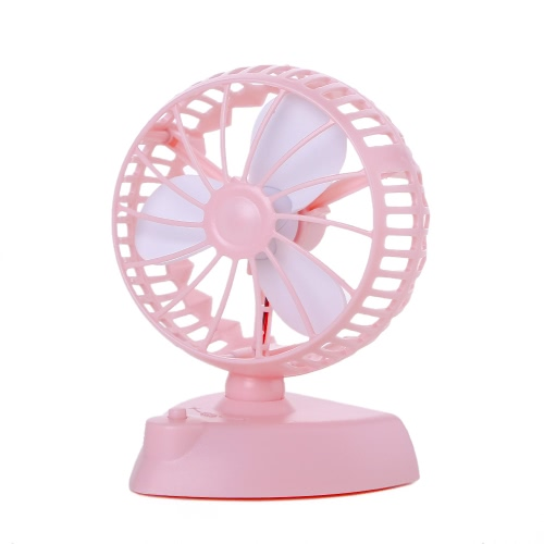 Adjustable 90 180 degree Double Power USB Charge Mini Fan Cute Portable Outdoor Summer Cooling Ventilador Table Rechargeable Battery for Home Office
