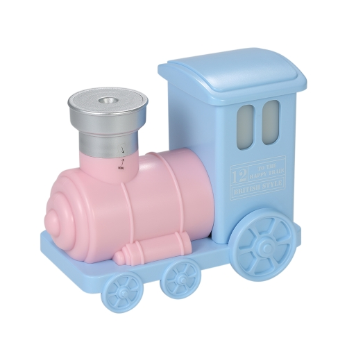 Diffuseur portatif multifonctionnel portatif d'arome de purificateur d'air de mini humidificateur de train adorable