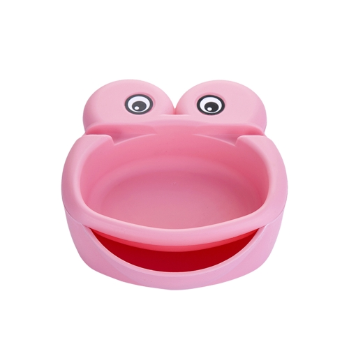 Fashion Double-layer Frog Lazy Fruit Plate Environmental Convenient Candy Snack Peel Seeds Storage Tray