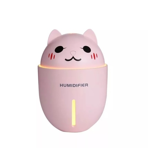 Mini humidificador portátil multifuncional 3 en 1 Cute Cat Shape