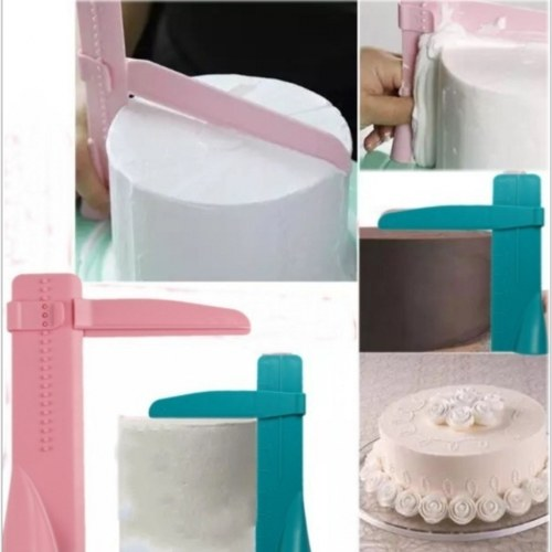 Plastic Cake Cream Scraper Polisher