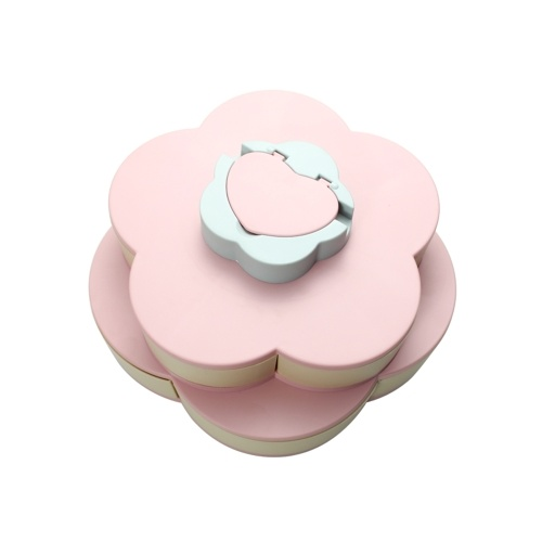 Double Layer Snack Box Candy Plates