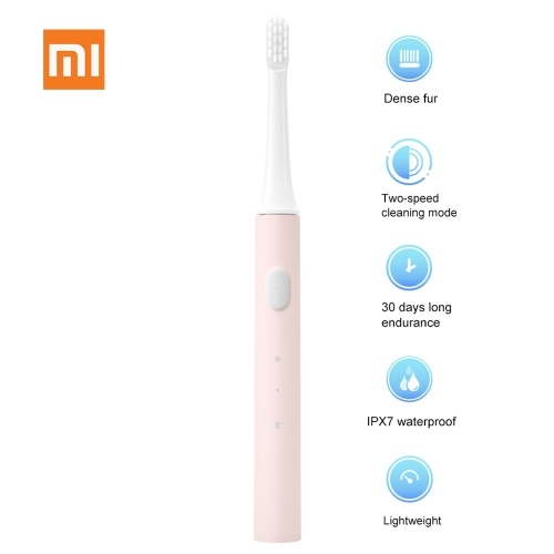 Xiaomi Mijia T100 Electric Toothbrush Adult Ultrasonic-Toothbrush USB Rechargeable Waterproof Two Modes