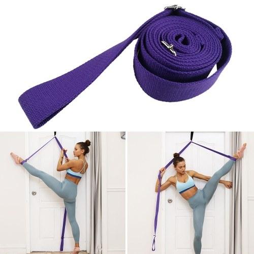 Ballet Stretch Strap Тренировка балета Здоровая модель для растяжки ноги фото