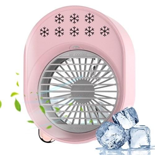 Personal Air Cooler 500mL Mini Space Cooler Desktop Air Conditioning Fan
