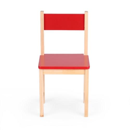 Chaise en bois pour enfant IKAYAA - 5 coloris disponibles