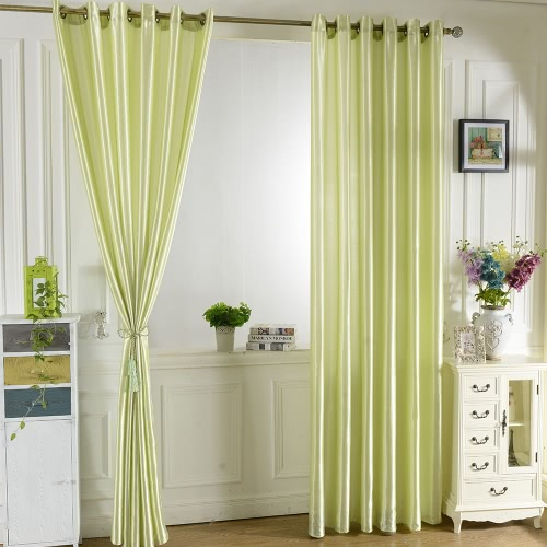 2PCS 100*250cm Grommet Blackout Curtain