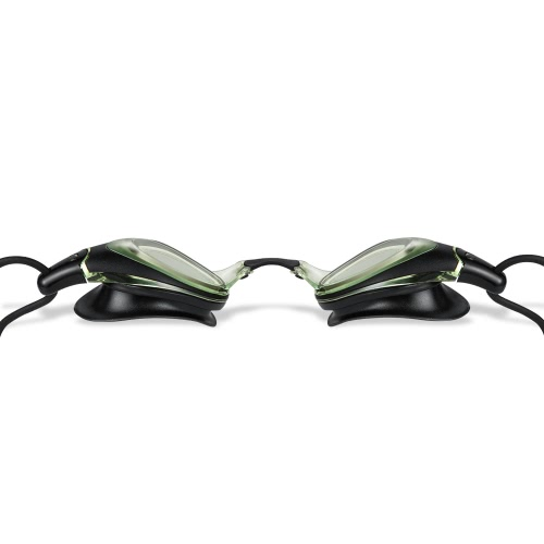 Хорошее качество унисекс УФ противотуманные защиты небьющиеся отличные плавательные очки с случае регулируемые специальные свободный шнурок ремень плавательный очки фото