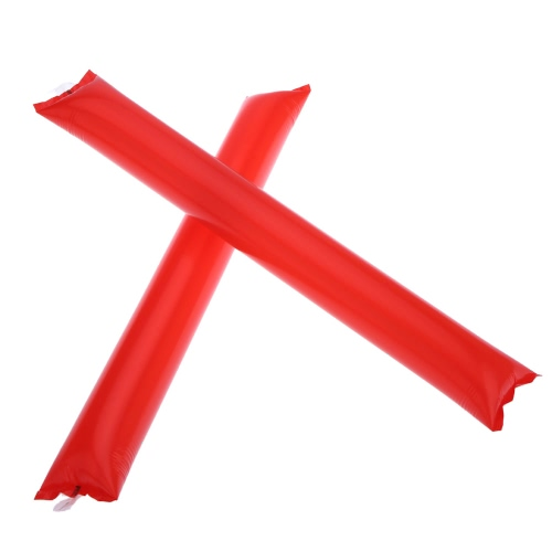 Anself 10pcs 2016 Euro Cup Sports Fans Noisemakers Sticks Cheer Noise Maker Inflatable Bam Bam Thunder Cheer Sticks/Blow Bar/Cheering Stick/Stuffed Club/Cheer Refueling Bar/La-la-la