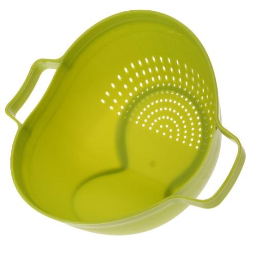 2-in-1 Kitchen Organizer Fruits and Vegetables Washing Draining Basket Colander Storage Holder Kitchen Accessory
