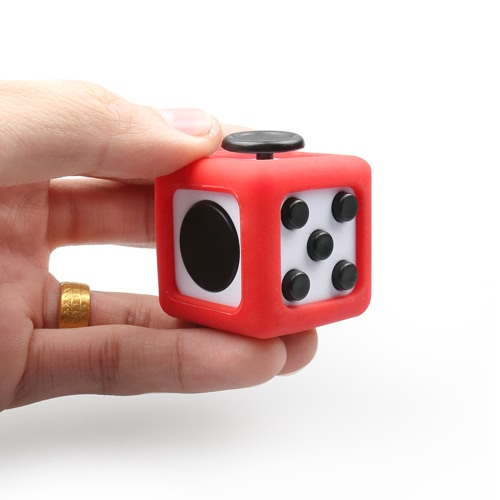 Stress Relief Fidget Cube Dice Shell Housing Frame Protective Box Case Sheath Accessory PVC