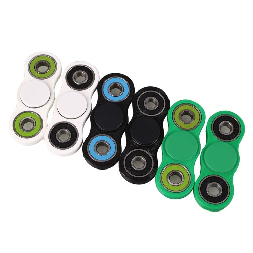Hot Finger Spinner Fidget Toy Hybrid Ceramic Bearing Spin Widget Focus Toy EDC Pocket Desktoy Gift for ADHD Children Adults Compact One Hand, TOMTOP  - buy with discount