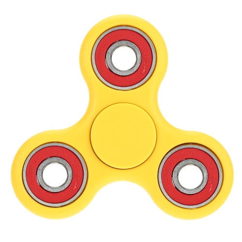 Anself Tri Fidget Hand Finger Spinner Spin Widget Focus Toy EDC Pocket Desktoy Triangle ABS Gift for ADHD Children Adults Relieve Stress Anxiety Boredom Killing Time Cute