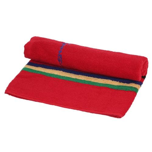 106cm длинный пот абсорбирующий хлопок спортивное полотенце бег путешествия тренажерный зал йога пилатес упражнения полотенца - синий