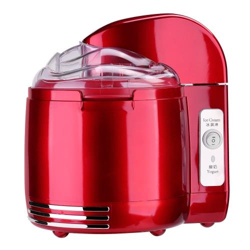 Parytretro 220-240V Retro Style 2-in-1 Maker йогурта Maker мороженого Mini 1.5 L Бытовая техника Электрическая машина для йогурта