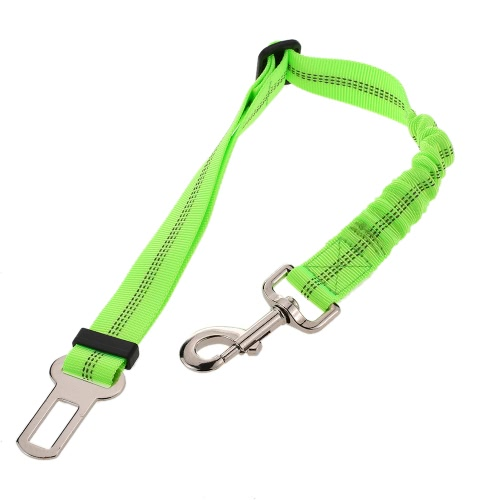 Noctilucent Elastic Adjustable Pet Vehicle Car Retractable Seat Belt Quick Release Dog Running Leash Shock Absorbing Restraints Safety Leads