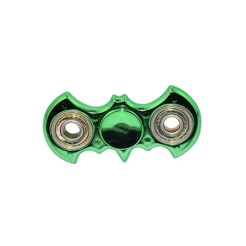 Bat Finger Spinner Toy Fidget High Quality Spin Widget Focus EDC Pocket Desktoy Gift for ADHD Children Adults Compact One Hand Fast Spinning
