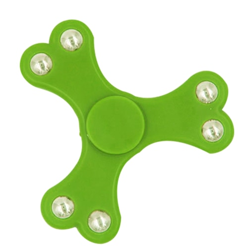 Spinner EDC Hand Tri Toy Anti-Anxiety Spins Ultra Fast Durable Portable Fidget Work for Killing Time Relieves Stress and Relax