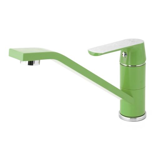 Frap Deck-установленный медный смеситель для воды с одной ручкой Смеситель для раковины для ванной комнаты Смеситель для горячей и холодной воды
