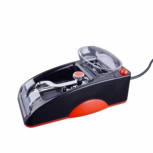Красный EU Plug Портативный электрический легкий автоматический сигарный инжектор для формования сигарет Машина для производства табака для мини-табака