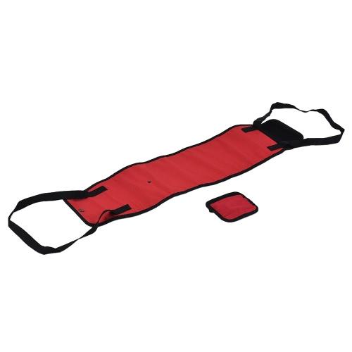 Большие подтяжки для подтяжки рук Реабилитационные жгуты с ручками для кормления для престарелых / отключаемых / поврежденных собак с ослабленными ногами