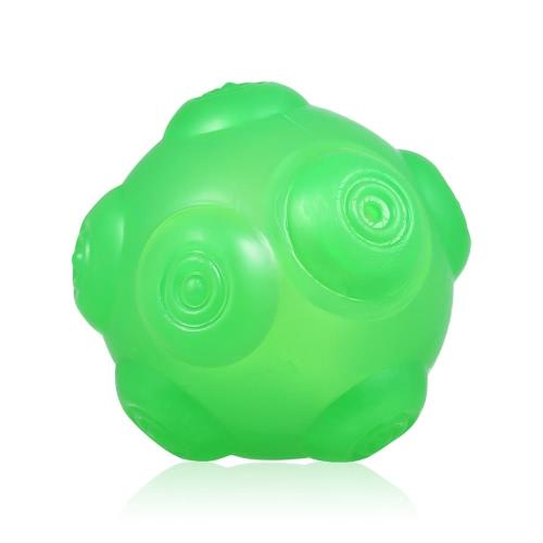 Прочный резиновый игрушечный мячик для собак Squeaky Ball для собак Интерактивное обучение