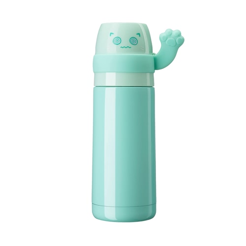 300ml Cute Lucky Cat Vacuum Water Cup Stainless Steel Vacuum Insulated Water Bottle High Quality Warm Keeping Water Bottle Heat & Cold Preservation Bottle Travel & To-Go Water Bottle