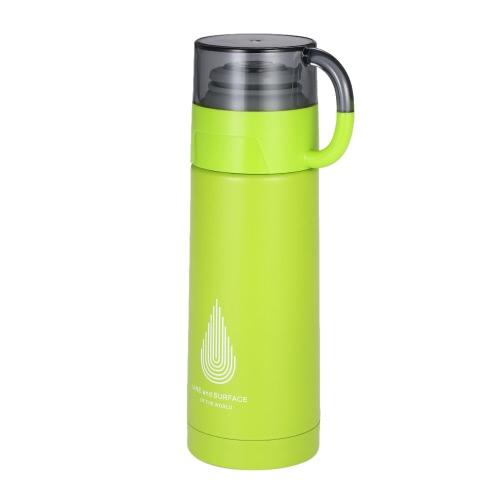 350 мл Твердая вакуумная чашка для воды из нержавеющей стали Вакуумная изоляционная бутылка с водой Высокое качество Теплый хранение бутылки с водой Горячая и холодная бутылка для хранения бутылок и бутылка для воды фото
