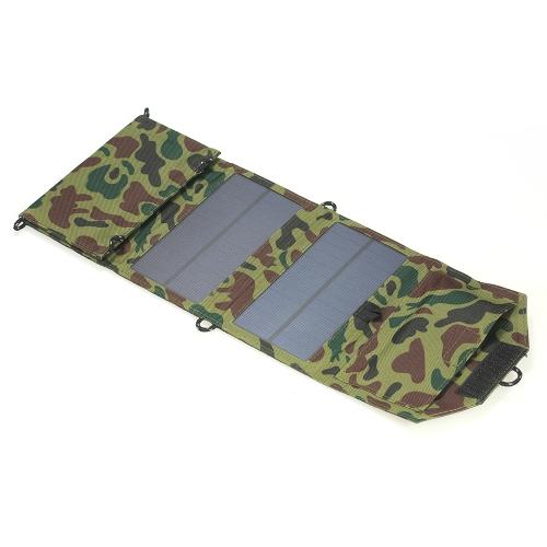 7W 5V USB-порт Складная солнечная панель Зарядное устройство Портативное зарядное устройство для мобильного телефона iPhone фото