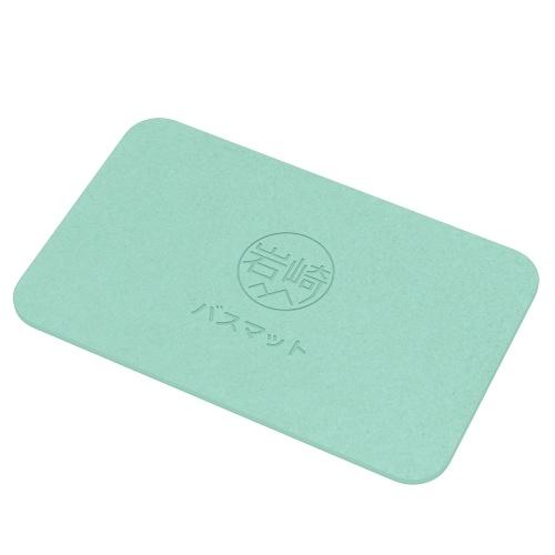 Диатомовая ванна для ванны с антибактериальным дезодорантом Несущие коврики для ванной комнаты Абсорбирующие мягкие удобные легкие для сушки серого