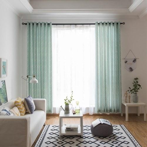 Labirinto fresco padrão de impressão cortina decorativa