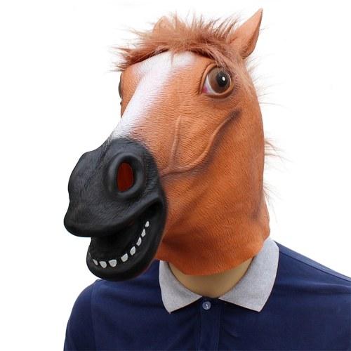 A resistência à prova de água portátil do patim o Dia das Bruxas finge a máscara do COS