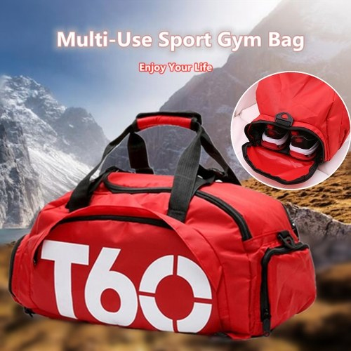 Multi-functional Large Sports Gym Shoulder Bag Duffle Travel Luggage Knapsack