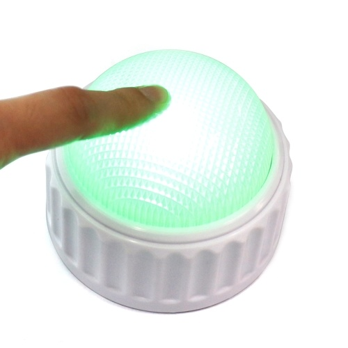 Small Delicate Roundness Talk Recording Button With High Bright Energy Saving Light