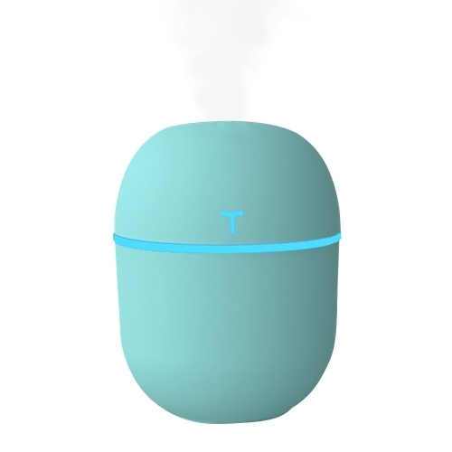 220mL Mist Humidifier Diffuser LED Colorful Quiet Car Humidifier