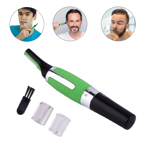 Hair Trimmer and Shaver Electric Shaver for Men Professional Allergy-proof Trimmer for Face Neck Nose Eyebrows and Body Hair