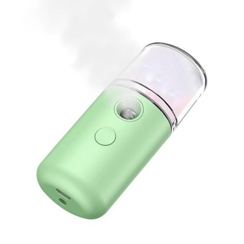 Nano Facial Mister 30 ml Gesichtsbefeuchter Tragbarer Cool Mist Gesichtsdampfer SPA Feuchtigkeitsspendender feuchtigkeitsspendender Gesichtssprüher USB Wiederaufladbarer handlicher Sprühnebel